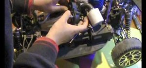 Install a 2-speed differential gear box in a RC buggy