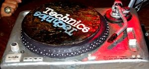 OMG Biz Markie's Turntable Birthday Cake Actually Spins