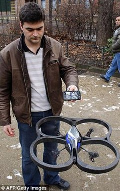 Military Technology Used to Create Video Game Drone