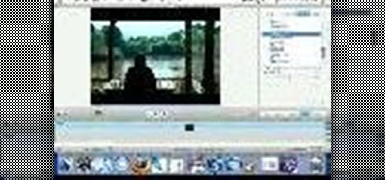 How to Create special effects in iMovie HD « iMovie