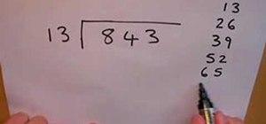 Divide bigger numbers