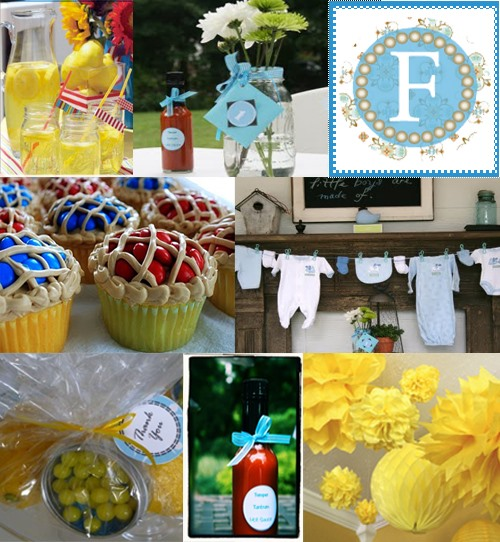 Baby shower barbecue ideas and inspiration board