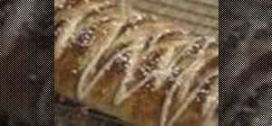 Make a Danish pastry braid