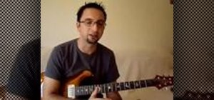 Play different rhythms on the acoustic guitar