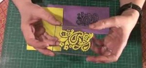 Make homemade stamps with Funky Foam