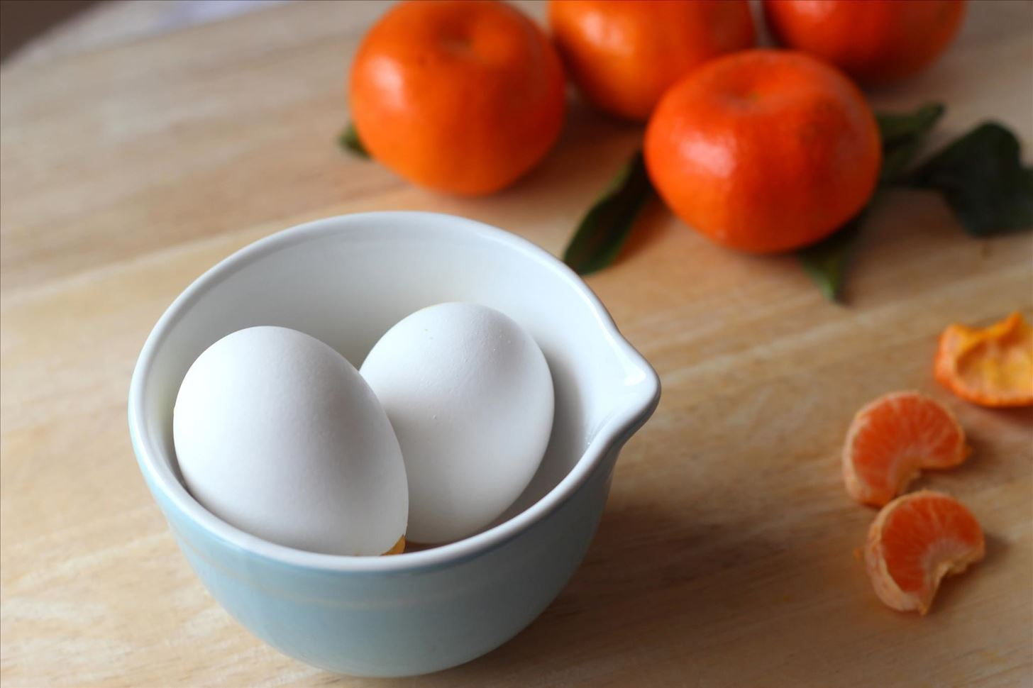 Bake Cake in Real Eggshells for April Fool's Day or Easter