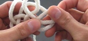 Tie a celtic triangle knot easily