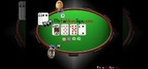 Bluff in a Texas Hold 'em poker game