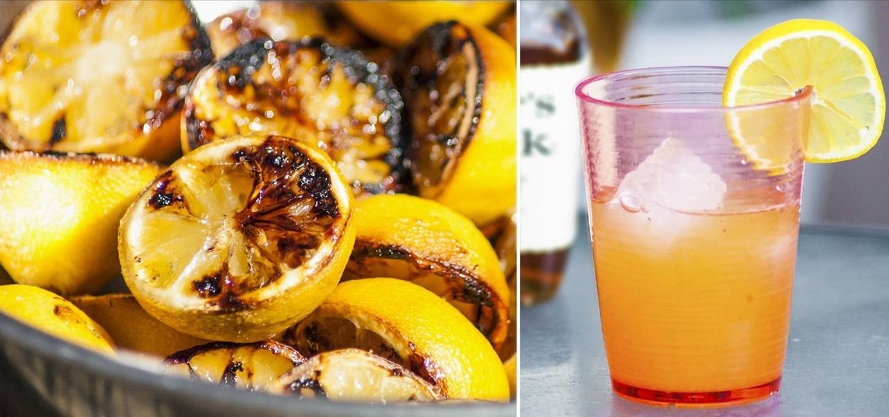 Make Grilled Lemonade, the Ultimate Summer Drink