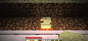 Build a piston trap in Minecraft