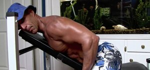 Do incline rows for lats