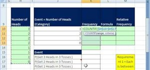 Find simple probabilities in Microsoft Excel