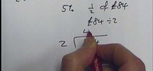Solve percentages without a calculator