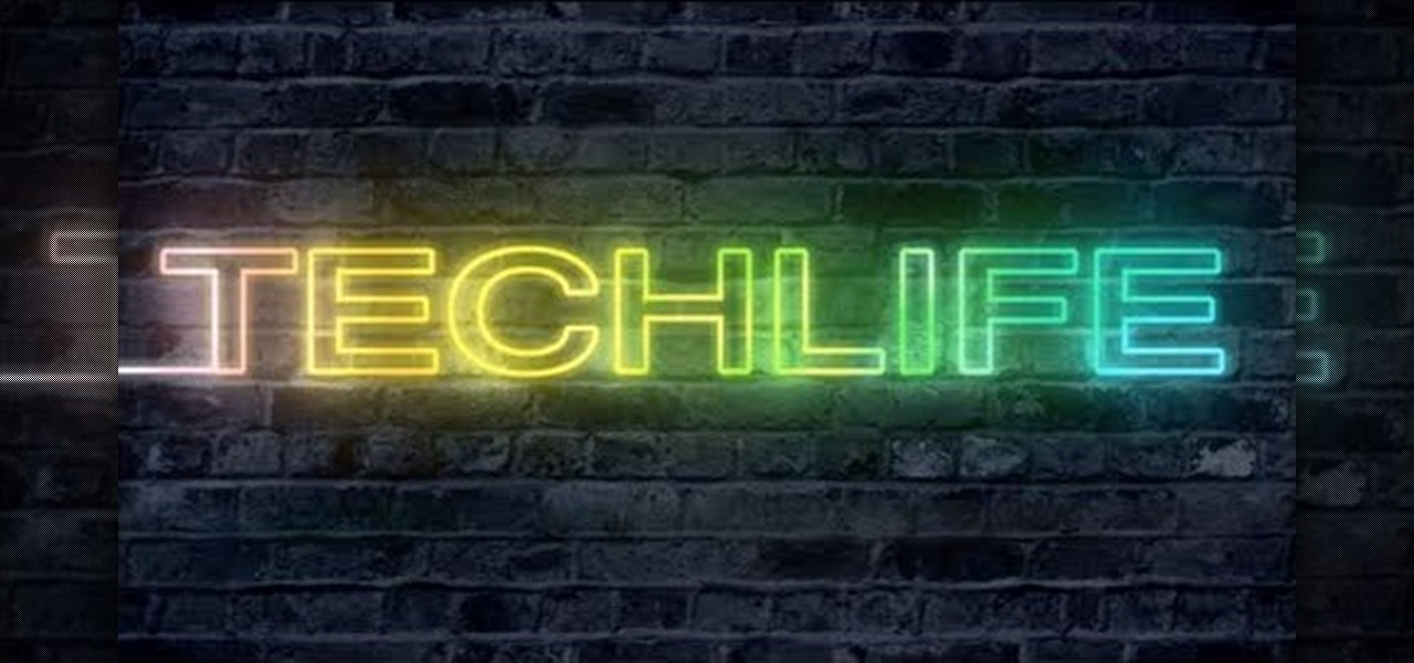 How to Make a cool neon text effect using Photoshop