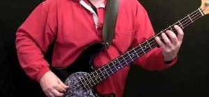 """Play the bassline from """"Time is Tight"""" by Booker T"""