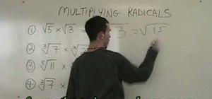 Multiply similar radicals