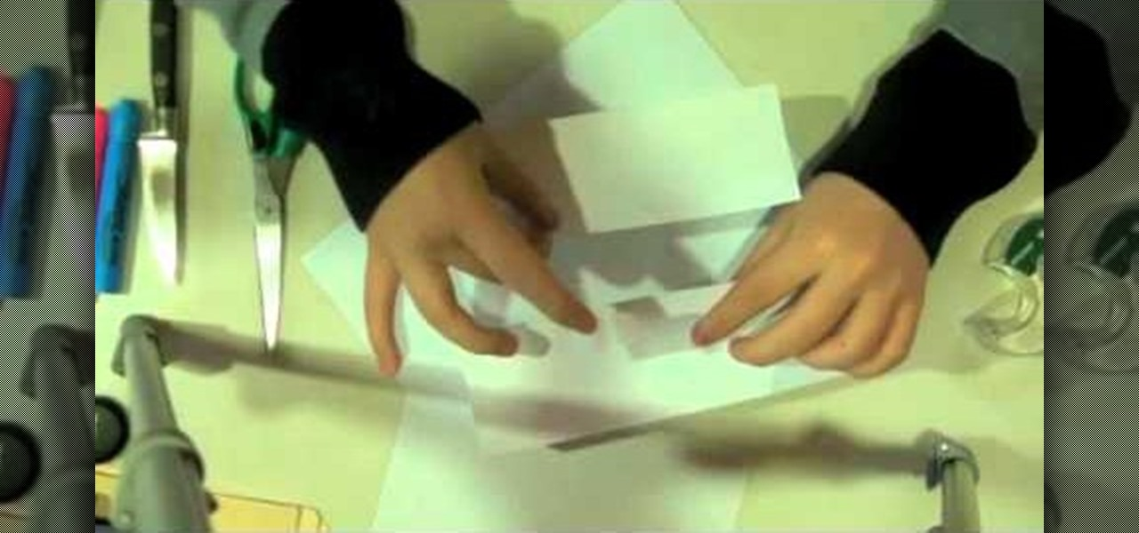 How To Make A Piggy Bank Or Money Box Out Of Paper Papercraft Wonderhowto