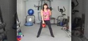 Do a kettlebell for beginners