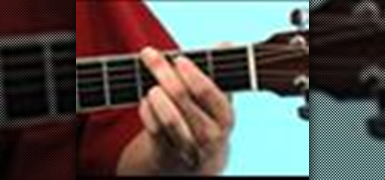 How to Play sus or sustained chords « Acoustic Guitar :: WonderHowTo