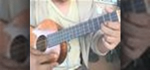 "Play ""Love Song"" by the Cure on the ukulele"