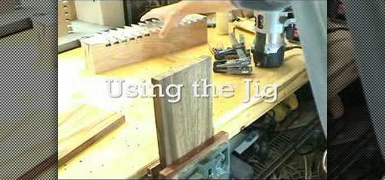 Do It Yourself Home Design: How To Build Through Dovetail Templates With MLCS