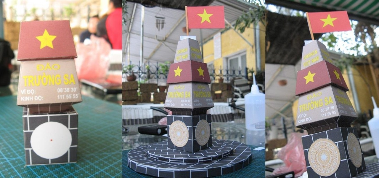 Make Your Own Truong Sa Sovereign Marker from Vietnam