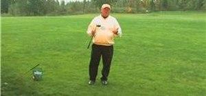 Teach kids simple golf drills
