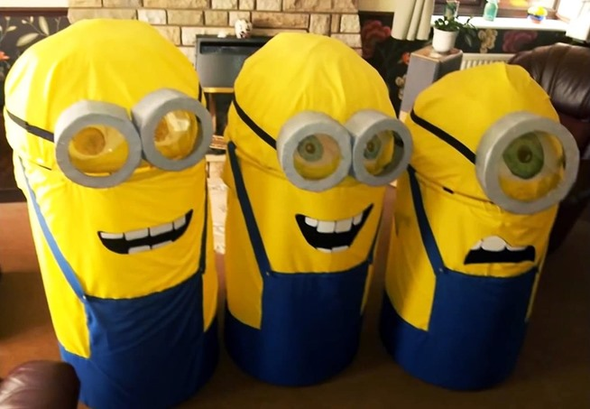 decoration halloween minion costume ideas kids adults