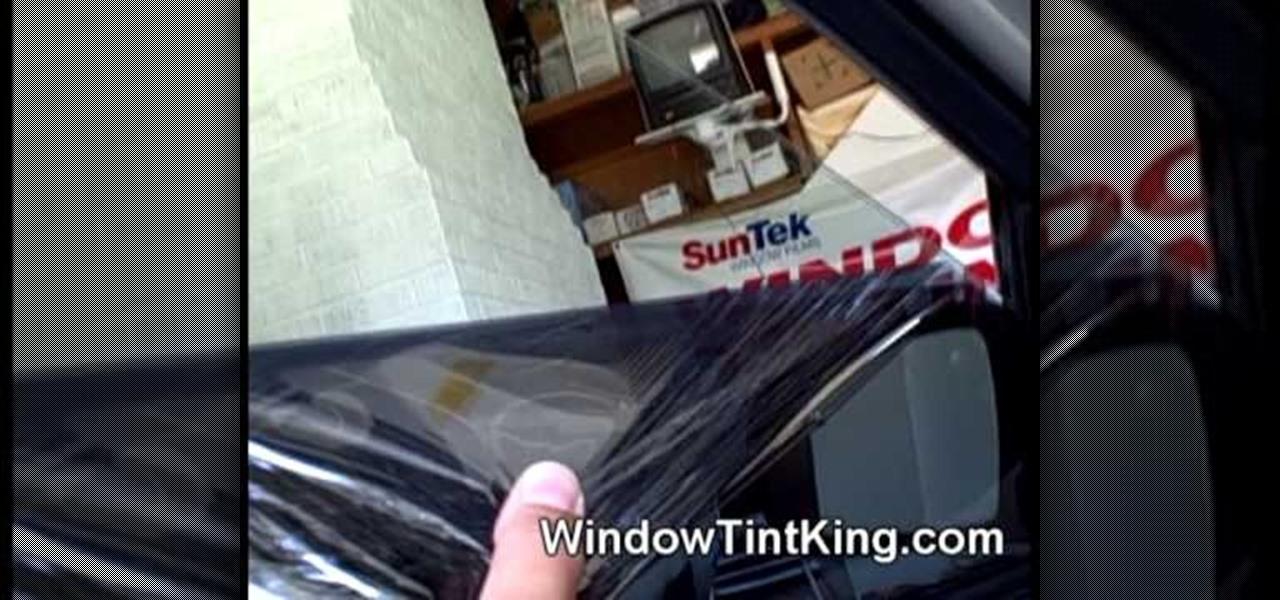 How To Remove Car Window Tint « Auto Maintenance & Repairs