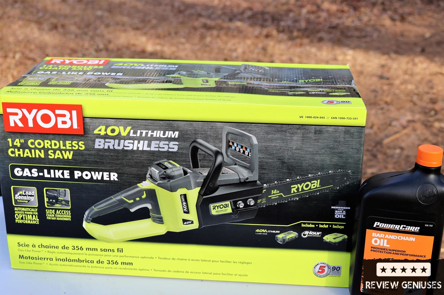 """Ryobi 14"""" Electric Brushless Chainsaw Review"""