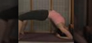 Doa yoga upward facing two foot staff pose