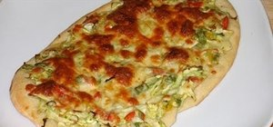 Make Indian cabbage pizza with Manjula