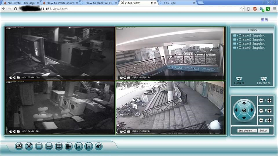 How to Hack CCTV Private Cameras « Null Byte :: WonderHowTo