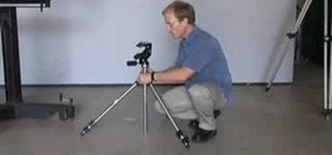 Test out different photography tripods