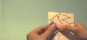 Make a frog pop-up card