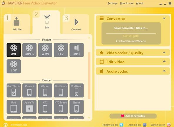 to Convert Video Files to Any Format with the Hamster Video Converter