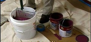 Paint quicker and more evenly with a roller