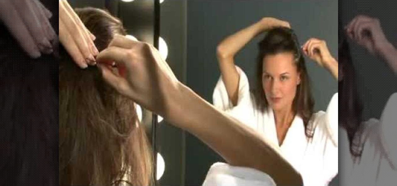 How To Create Angelina Jolie S Half Up Half Down Oscar