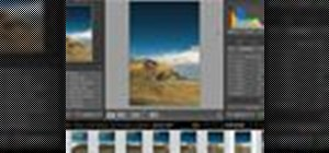 Process panoramic photos in Lightroom