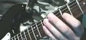 Play triads up and down the guitar fast