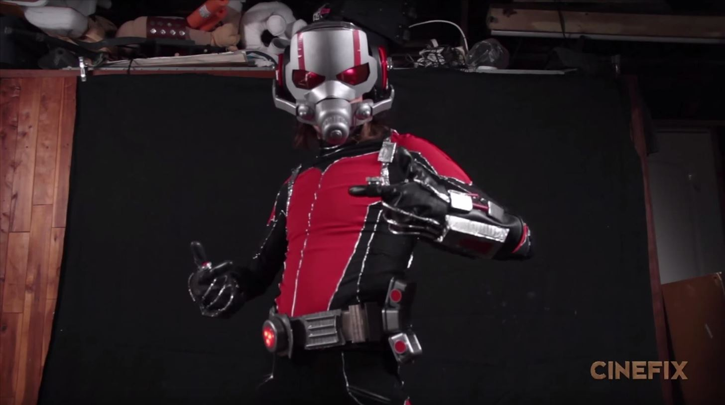 How to Build Ant-Man's Helmet & Suit for Halloween