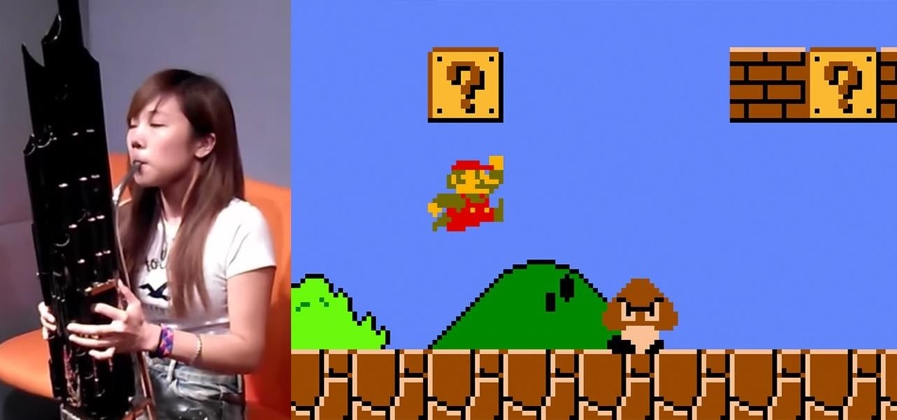 Girl Plays Super Mario Bros. Theme on Ancient Chinese Instrument—& It Sounds Exactly the Same