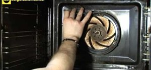 Replace the fan oven element in a Neff oven