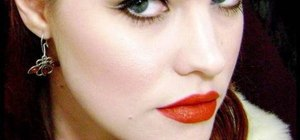 "Create Queen Sophie-Anne's retro makeup look from ""True Blood"""