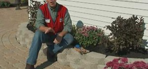 Build and install a retaining wall with Lowe's