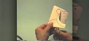 Make a bear pop-up card