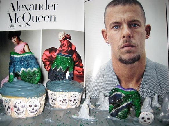 Alexander McQueen Tribute Cupcake