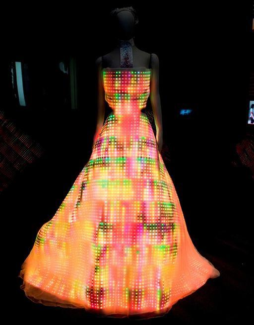 24,000 LED Light-Up-My-Dress