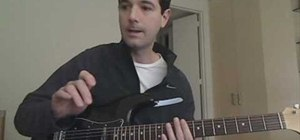 "Play ""New Year's Day"" by U2 on electric guitar"