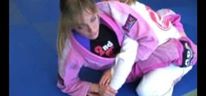 Do a kimura to guillotine submission in MMA fighting with MMA Girls
